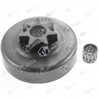 Carcasa ambreiaj drujba Stihl 030, 031, 032, 041 Fixa (Platt)