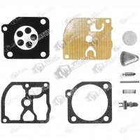 Kit reparatie carburator drujba Alpina Castor 400, 450, 460, 500, 510 Zama - Complet (Raisman)