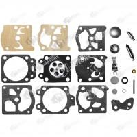 Kit reparatie carburator drujba Husqvarna 136, 137, 141, 142, 40, 45, 51, 55 Walbro - Complet (Raisman)