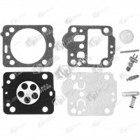 Kit reparatie carburator drujba Husqvarna 235, 236, 240, 435, 440, 135, 140 Zama - Complet (Raisman)