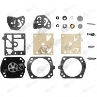 Kit reparatie carburator drujba Husqvarna 340, 345, 350, 346xp, 351, 353, 357, 359, 254, 257, 261, 262 Walbro - Complet (Raisman)