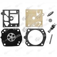 Kit reparatie carburator drujba Husqvarna 365, 371, 372 Walbro - Complet (Raisman)