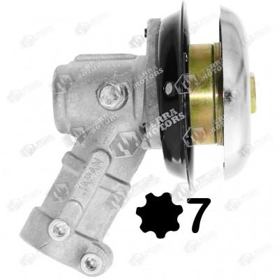 Angrenaj unghiular motocoasa 26mm 7 Caneluri