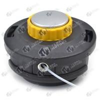 Cap cu fir motocoasa Automat - M10x1.25 - Buton galben cu rulment