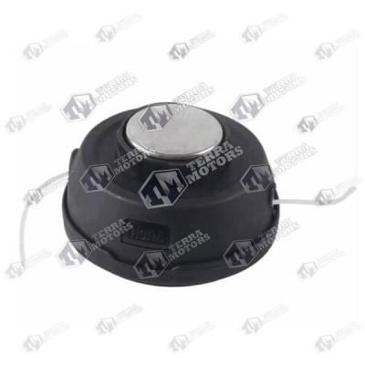 Cap cu fir motocoasa Automat - M10x1.25 - Buton metal mare