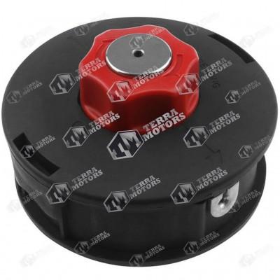 Cap cu fir motocoasa Automat - M10x1.25 - Buton rosu Mediu - 120mm