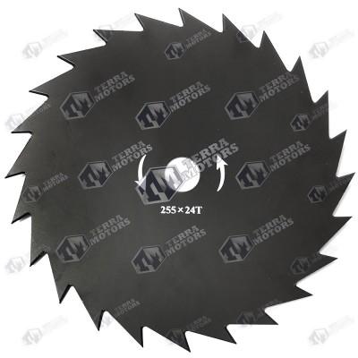 Disc motocoasa 24D - 255mm - 25.4mm