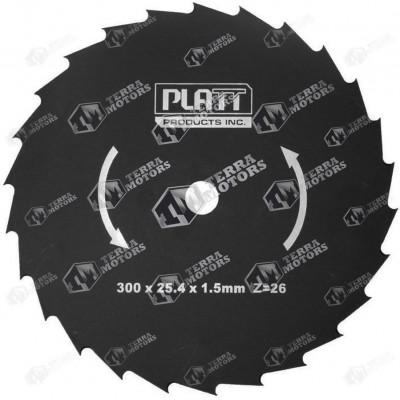 Disc motocoasa 26D - 300mm - 25.4mm - 1.5mm (Platt)