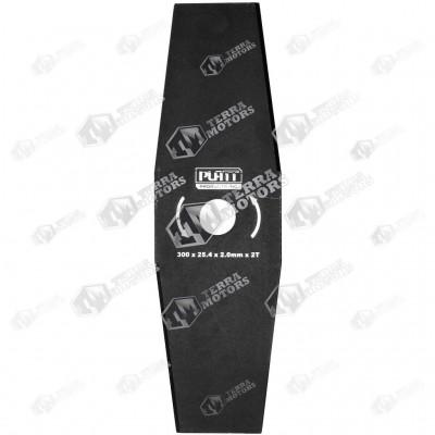 Disc motocoasa 2D - 300mm - 25.4mm - 2mm (Platt)