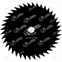 Disc motocoasa 40D - 255mm - 25.4mm - 1.6mm