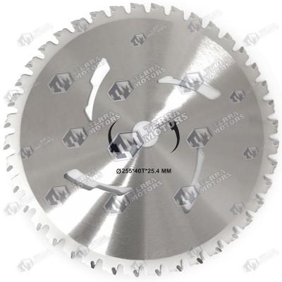 Disc motocoasa 40D - 255mm - 25.4mm - Vidia - (Pt. taiere arbusti)