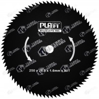 Disc motocoasa 80D - 250mm - 20mm - 1.6mm (Platt)