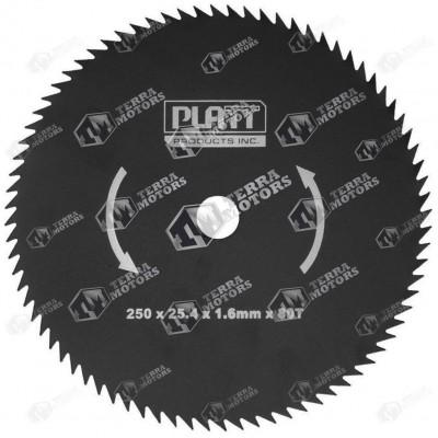 Disc motocoasa 80D - 250mm - 25.4mm - 1.6mm (Platt)