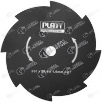 Disc motocoasa 8D - 250mm - 25.4mm - 1.6mm (Platt)