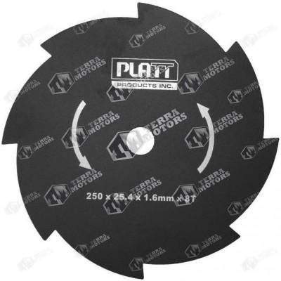 Disc motocoasa 8D - 250mm - 25.4mm - 1.6mm