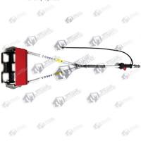 Adaptor prasitoare pentru motocoasa cu tija flexibila 26mm - Patrat