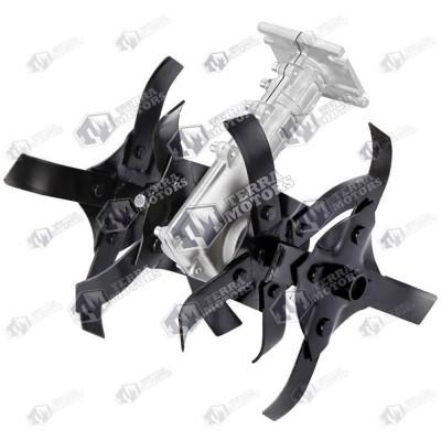 Adaptor sapa sau cultivator pentru motocoasa Model 2 - 28mm 9 Caneluri