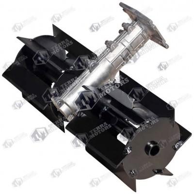 Adaptor sapa sau cultivator pentru motocoasa Model 3 - 28mm 9 Caneluri