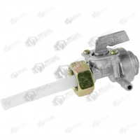 Robinet benzina generatoare Mare cu decantor - Filet interior - Piulita
